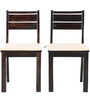 Stylo Chairs Set Of Two in Brown Colour by HomeTown