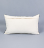 SWHF Black & White Leather 12 x 20 Inch Cushion Cover