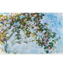 Tallenge Gallery Wrap Canvas 12 x 18 Inch Old Masters Collection The Roses by Claude Monet Framed Digital Art Prints