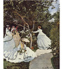 Tallenge Rolled Canvas 36 x 48 Inch Old Masters Collection Women In The Garden by Claude Monet Unframed Digital Art Prints