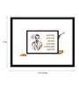 Tallenge Paper 17 x 0.5 x 12 Inch Hollywood Collection Fight Club Quote Framed Digital Poster