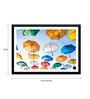 Tallenge Paper 17 x 0.5 x 12 Inch Under My Umbrella Framed Digital Poster