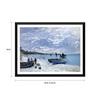 Tallenge Paper 18 x 0.5 x 14 Inch Claude Monet The Beach At Sainte Adresse Framed Digital Poster