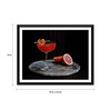Tallenge Paper 18 x 0.5 x 14 Inch Tangy Cocktail Framed Digital Poster