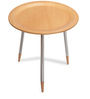 Teak Wood Side Table in Teak Finish by Durian