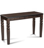 Thames Console Table in Brown Colour by Durian