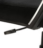 The Agujeros Low Back Task Chair in Black color by VJ Interior