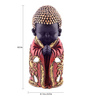 The Exclusive Deco Multicolour Polystone Buddha - RD0449