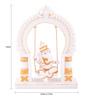 The Exclusive Deco Multicolour Polystone Ganesh - RD0422