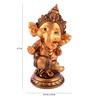 The Exclusive Deco Multicolour Polystone Ganesh - RD0461
