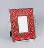 The Yellow Door Red & Gold MDF 8.5 x 10.5 Inch Photo Frame