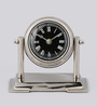 The Yellow Door Silver Aluminium & Glass 6 x 2.5 x 4.5 Inch Table Watch with Stand