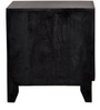 Milton Bed Side Table in Espresso Walnut Finish by Woodsworth