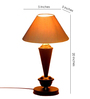 Tu Casa White Conical Shade Table Lamp