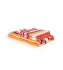 Turkish Bath Orange Cotton 28 X 58 Inch Towel - Set of 3