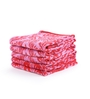 Turkish Bath Red 100% Cotton 15 x 23 Hand Towel - Set of 5