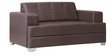 Two Seater Sofa in Brown Colour by Home Art Creations