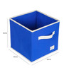 UberLyfe Cubies Storage Boxes for anything and everthing - Blue 5PC