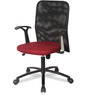 UV Ergonomic Chair in Black and Red Colour by VOF