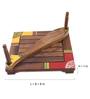 VarEesha Ethnic Fish Brown Sheesham Wood Tissue Holder