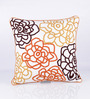 Vista Home Fashion Multicolor Cotton 18 x 18 Inch Cushion Cover