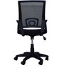 Voom Ergonomic Chair in Black Colour by Emperor