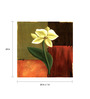 Wall Decor Canvas 24 x 24 Inch Light Yellow Flower Framed Digital Art Print