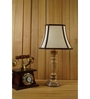Woody Lamp House Off White Poly Cotton Table Lamp