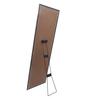 Zahab Brown MDF Matte Framed Decorative Standing Mirror