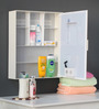 Brasilia Bathroom Cabinet in White by CasaCraft