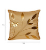 Zikrak Exim Beige Polyester 16 x 16 Inch Cushion Covers - Set of 5
